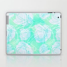 Blue roses Laptop & iPad Skin