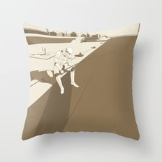 The Father's Shadow Throw Pillow