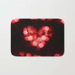 Digital Love Bath Mat
