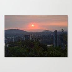 City Waking Canvas Print