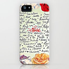 Love injected iPhone Case