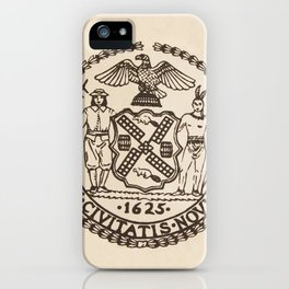 Seal of the City of New York iPhone Case