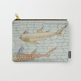 Shark Halloween Party Carry-All Pouch