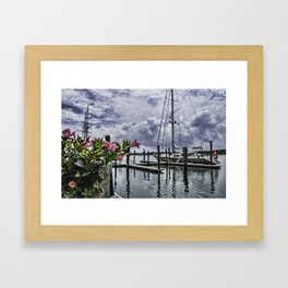 The Harbour Framed Art Print