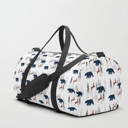 Woods print Duffle Bag