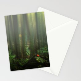 Mist over the moor Stationery Cards