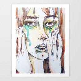 Mournings Art Print