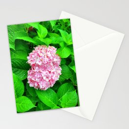 Pink Lilac Among Greenery Stationery Cards