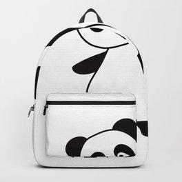 Panda I Am Three Years Old 3rd Birthday Child Backpack