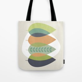 Fall Shades, Leaves of Autumn, Abstract Tote Bag