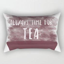 Always Time For Tea Rectangular Pillow