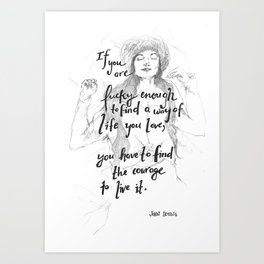 If You Are Lucky Enough Art Print