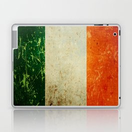 Grunge Irish Flag / Irish Tricolour Laptop & iPad Skin