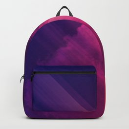 Vibrant Colorful Rays between Clouds 05 Backpack