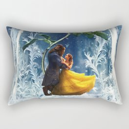 Beauty and the Beast-Rose Rectangular Pillow