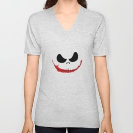 Joke Skellington Unisex V-Neck