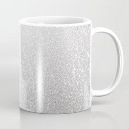 Silver ice - glitter effect- Luxury design Coffee Mug