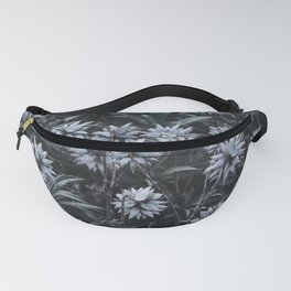 Cold Winter Mountain Flowers. Madeira Island, Portugal.  Fanny Pack