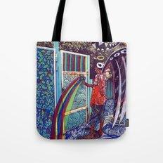 Psychoactive Bear 4 Tote Bag