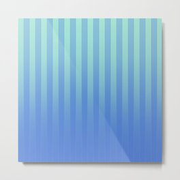 Gradient Stripes Pattern tb Metal Print
