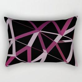 3D Futuristic GEO Lines IV Rectangular Pillow