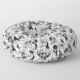 Oh Miniature Pinscher Floor Pillow