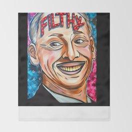 John Waters, Filthy  Throw Blanket
