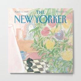 The New Yorker - 04/1985 Metal Print
