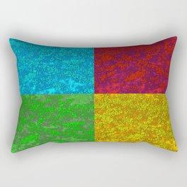 Azalea Pop Art Rectangular Pillow