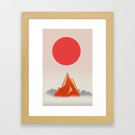 Himalayan zen Framed Art Print