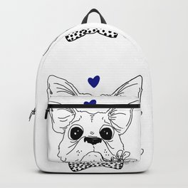 Dapper Frenchie Backpack
