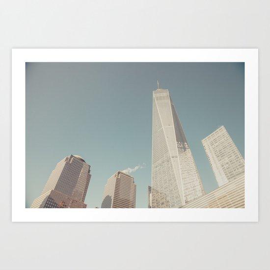 World Sky - New York City Art Print