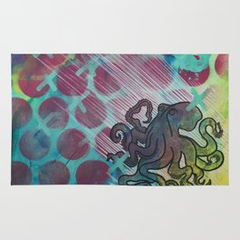 Octopuses Garden Rug
