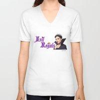 regina mills V-neck T-shirts featuring Evil Regal, Regina Mills by Your Friend Elle