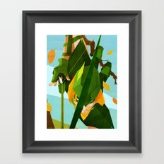 Like a Leaf on the Wind Framed Art Print