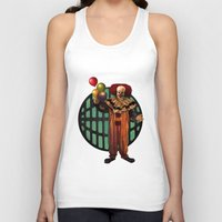 pennywise Tank Tops featuring Pennywise by Monsterinbox