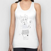 tattoos Tank Tops featuring Tattoos & Pills by Floriane