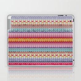 knitting pattern Laptop & iPad Skin
