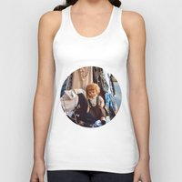 doll Tank Tops featuring Doll by Jimmy Duarte