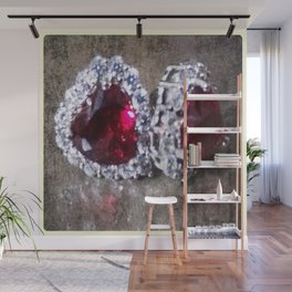 Fire and Ice Wall Mural