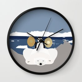 Time to get up Wall Clock