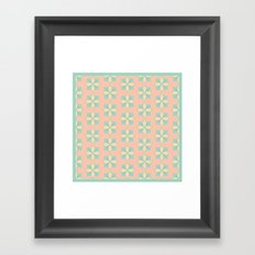 Pattern_01 Framed Art Print