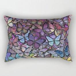 butterfly fantasia Rectangular Pillow