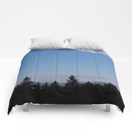 Wooded Skyline  Comforters