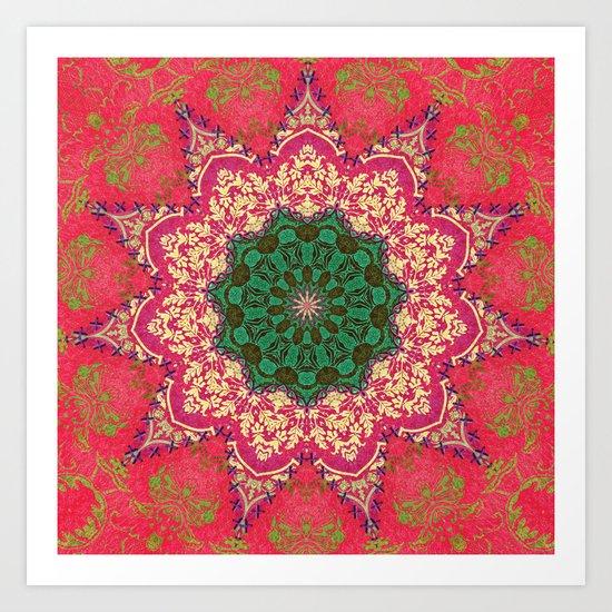 Royal Mandala 1 Art Print
