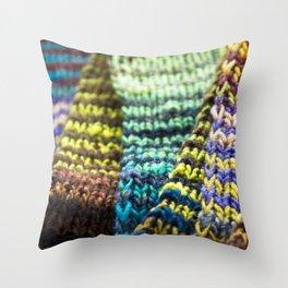 Stitch By Stitch Throw Pillow
