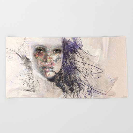 Women 5 Beach Towel