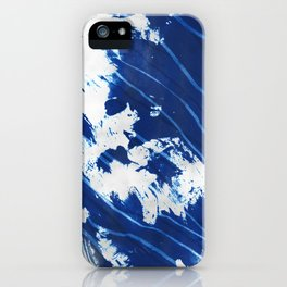 Shibori Wave iPhone Case