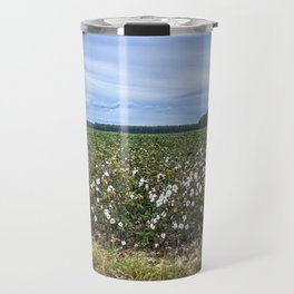Cotton Fields  Travel Mug