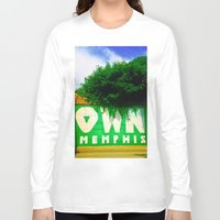 memphis Long Sleeve T-shirts featuring OWN Memphis by John Weeden